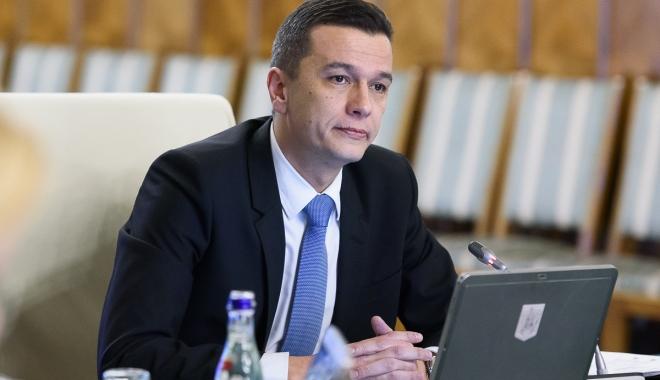 """Foto: Grindeanu: """"Vom adopta un proiect de lege pentru proiecte strategice"""""""