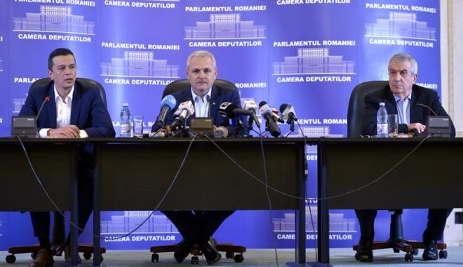 """Foto: """"Grindeniada"""" continuă! PSD, moţiune de cenzură împotriva propriului Guvern"""