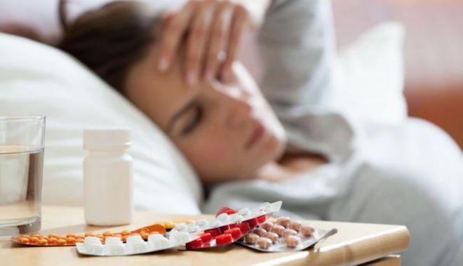 Foto: Gripa nu are, încă, un trend descrescător
