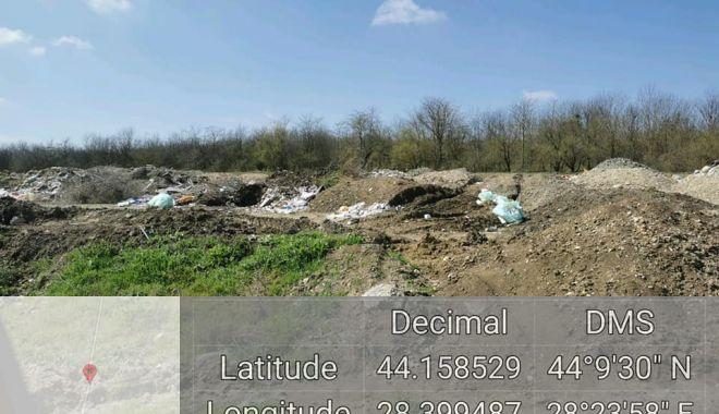 Groapă de deşeuri lângă situl Natura 2000 Fântâniţa Murfatlar - groapadedeseuri-1618313443.jpg