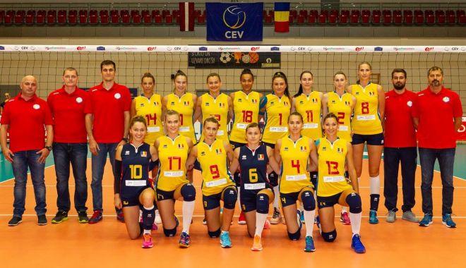 Foto: Grupă accesibilă pentru tricolore, la Campionatul European de volei