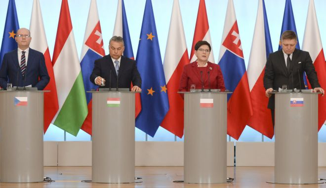 Foto: Grupul de la Vișegrad va accepta doar candidați care înțeleg problemele Europei Centrale