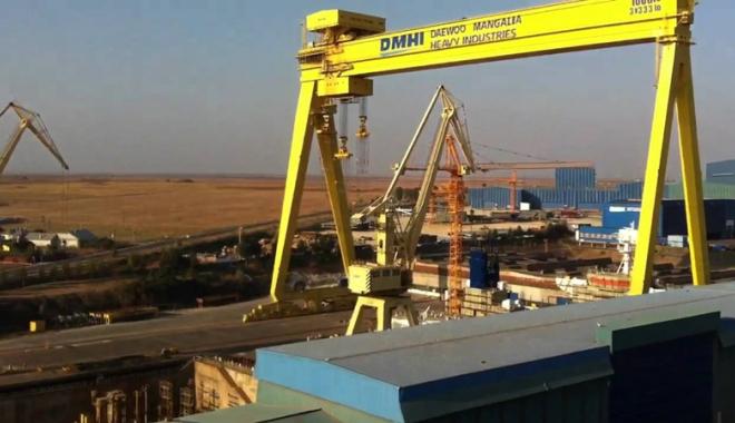 Foto: Grupul olandez Damen a devenit acţionar majoritar la Daewoo Mangalia