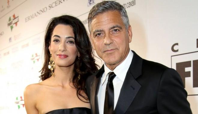 Foto: Ce cadou de nuntă a primit Clooney de la soţia sa