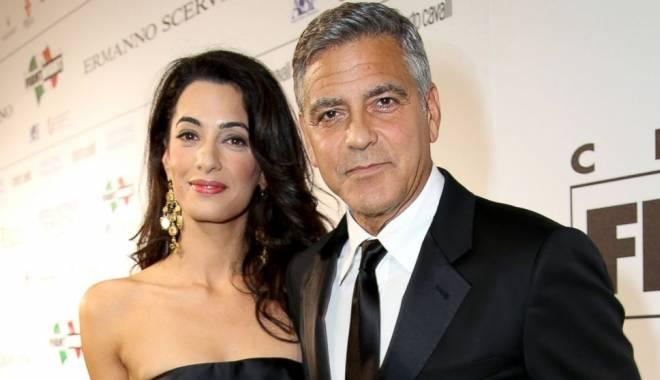 """Foto: George Clooney, """"victima"""" celei mai bune glume ale serii la gala Globurile de Aur 2015"""
