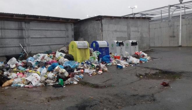 Foto: Polaris a sistat ridicarea gunoaielor în unele zone din Mangalia