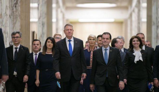 Foto: Guvernul Orban 2 a fost învestit. Măsuri speciale pentru depunerea jurământului