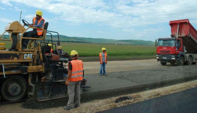 Foto: Se înființează comandamente permanente pe șantierele autostrăzilor