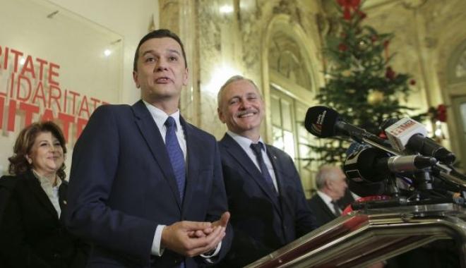 """Foto: Sfidare la adresa românilor! PSD a lansat petiţia """"Susţin Guvernul Grindeanu"""""""