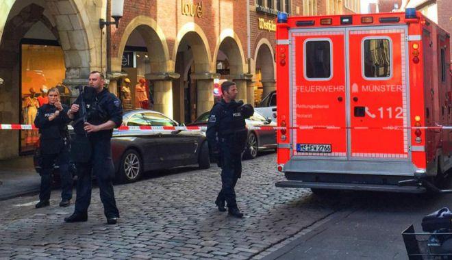 Foto: Guvernul german şi-a exprimat solidaritatea  cu victimele de la Münster
