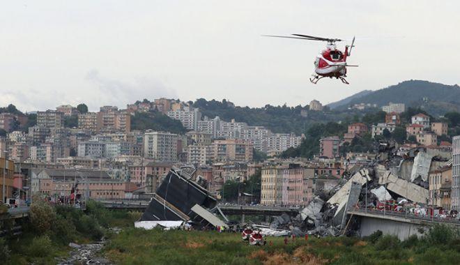 Foto: Guvernul italian decretează stare  de urgenţă pentru 12 luni, la Genova