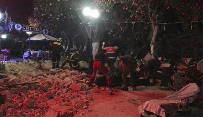 Foto: UPDATE | CUTREMUR DEVASTATOR ÎN TURCIA ŞI GRECIA! MAI MULŢI MORŢI ŞI RĂNIŢI, CLĂDIRI PRĂBUŞITE. Sunt aşteptate replici