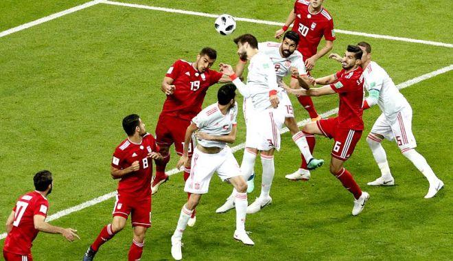 Foto: CM 2018. Echipa Spaniei a învins la limită selecţionata Iranului