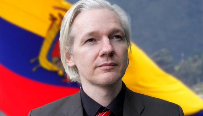 "Foto: ""Hackerul"" Julian Assange poate rămâne la ambasadă la Londra"