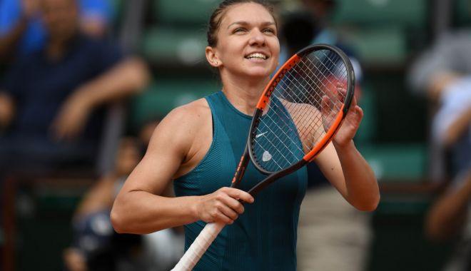 Foto: SIMONA HALEP, reacție EMOȚIONANTĂ după victoria de la Roland Garros