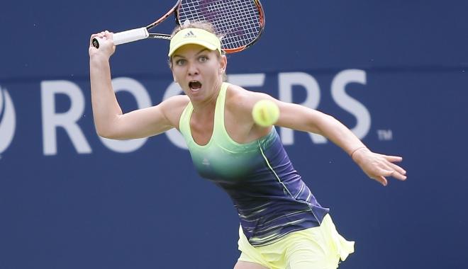 Foto: Simona Halep, în semifinalele turneului WTA de la Toronto