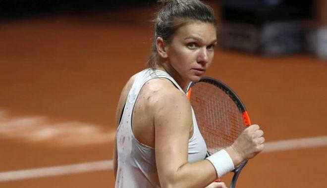 Foto: Tenis / Simona Halep, ELIMINATĂ de la Madrid de Karolina Pliskova