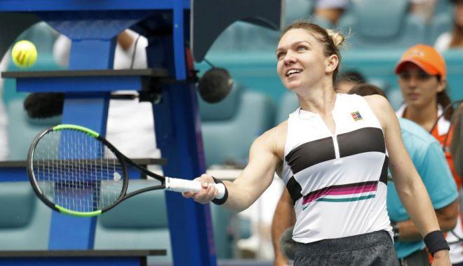 Foto: Tenis / Simona Halep se califică în sferturi la Miami după o victorie splendidă cu Venus Williams