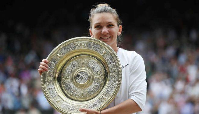 Foto: De cine a fost ajutată Simona Halep să câștige turneul de la Wimbledon