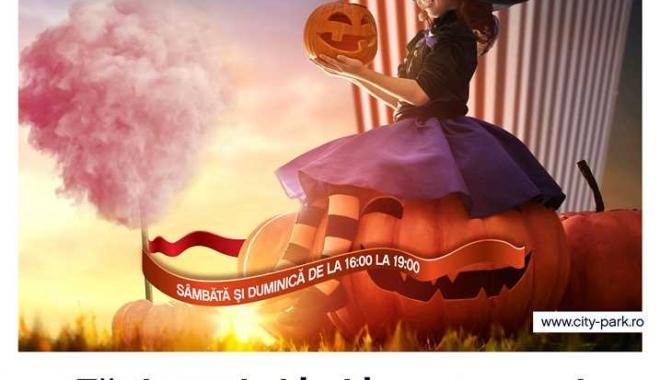 Foto: Spiritele petrecerii de Halloween se dau în spectacol la City Park Mall