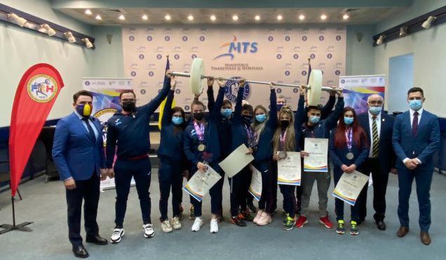 Haltere / Medaliaţii la Europenele de la Moscova, felicitaţi de ministrul Tineretului şi Sportului - halterefelicitari-1618331959.jpg