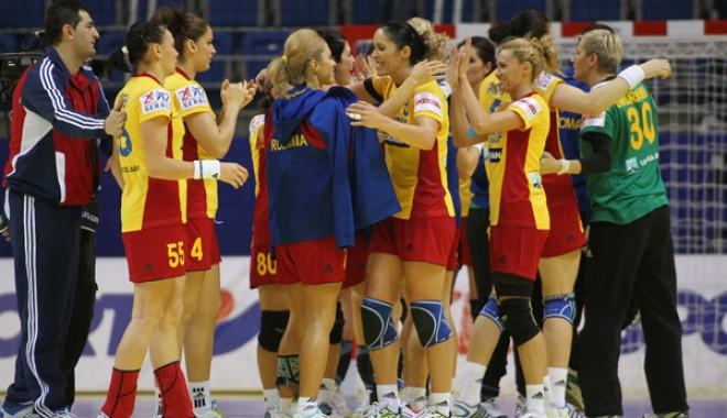 Foto: România-Cehia, scor 29-23, în grupa D la CM de handbal feminin