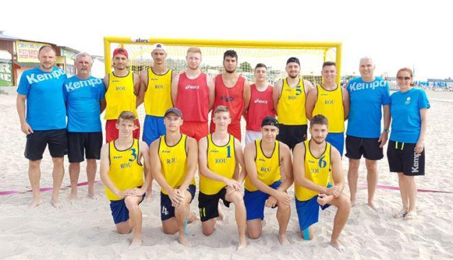 Foto: Avem naţională de beach-handball! Tricolorii lui Aihan Omer, pregătiri la Costineşti
