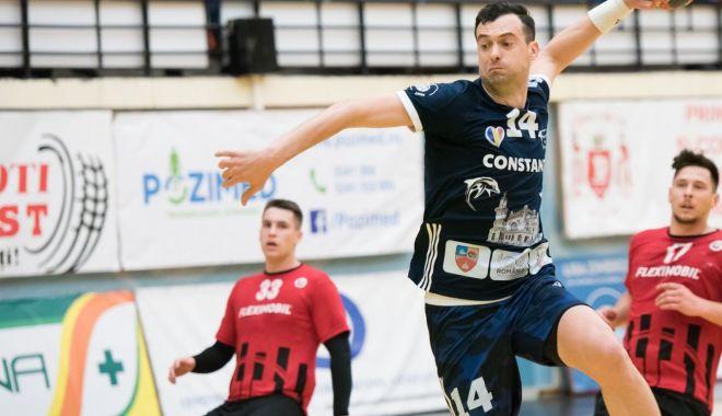 Foto: HC Dobrogea Sud Constanţa face spectacol în Liga Naţională