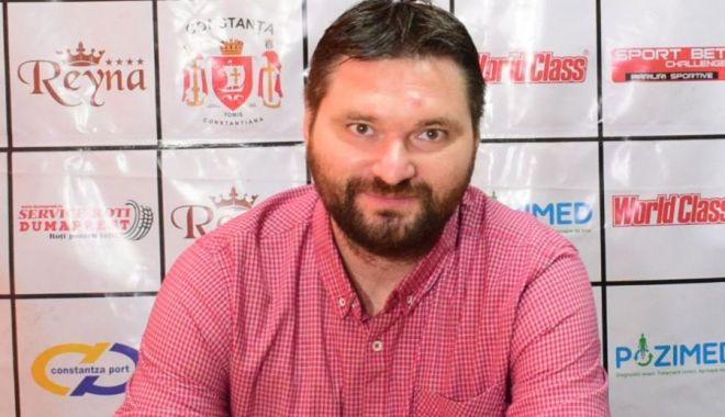 Foto: Ionuţ Stănescu, cel mai bun conducător de club