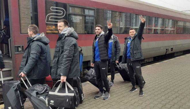 Foto: HC Dobrogea Sud merge la victorie în deplasarea de la Turda