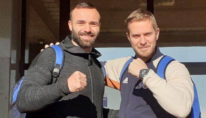 Foto: Mocanu și Malinovic, adversari în preliminariile Campionatului Mondial