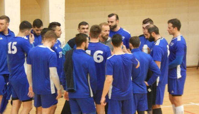 Foto: HC Dobrogea Sud, victorie clară în amicalul cu RK Struga