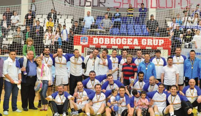 Foto: HCM Constanţa, victorie lejeră la Cluj-Napoca