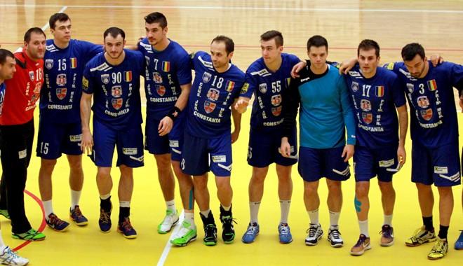 """Foto: HCM Constanţa, """"grupă de foc"""" în Cupa EHF"""