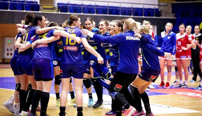 Foto: Handbalistele tricolore  au triumfat la Trofeul Carpaţi
