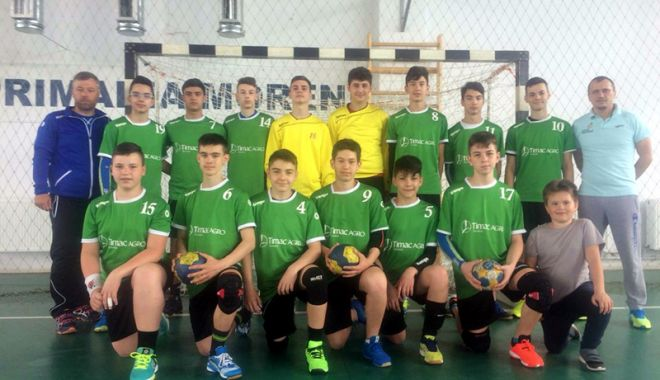 Foto: Handbaliştii juniori de la CS Medgidia, calificaţi la turneul final