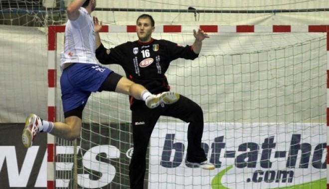 Foto: Handbal / Mihai Popescu, eroul meciului HCM Constanța - Celje