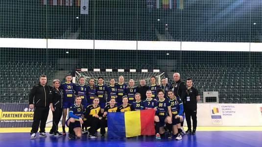 Foto: Handbal feminin: Naţionala de tineret a României s-a calificat la Campionatul Mondial din 2018