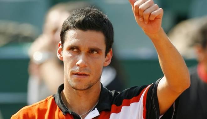 Foto: Tenis: Victor Hănescu, în sferturile probei de simplu a turneului challenger din Turcia