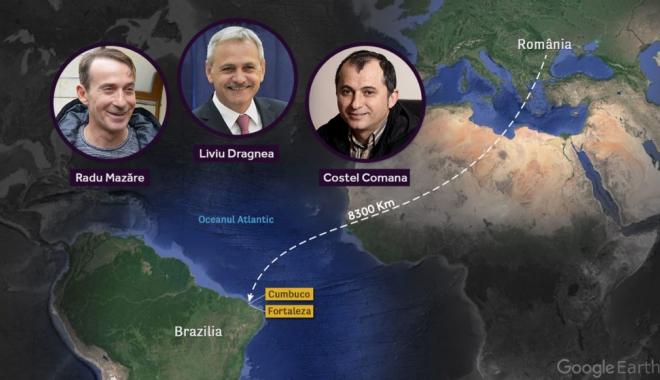 Anchetă Rise Project. Imperiul lui Dragnea din Brazilia