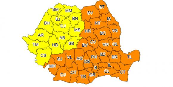 COD PORTOCALIU DE GER EXTREM LA CONSTANŢA! Se anunţă -22 de grade în ţară - harta-1519472815.jpg