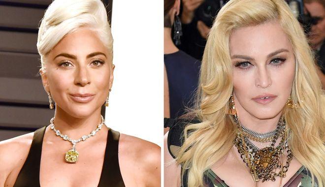 Lady Gaga a făcut pace cu o celebră artistă. De ce nu s-au suportat timp de 8 ani 45 minute - hbzladygagamadonnaindex215511145-1551299486.jpg
