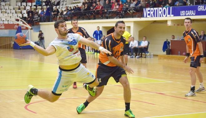 Foto: Duel de foc pentru HC Dobrogea Sud, în sferturile Cupei României