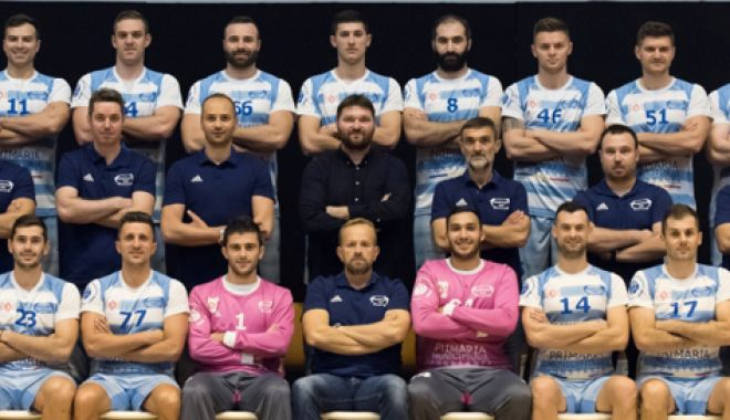 Foto: HC Dobrogea Sud repetă la Cluj  partitura pentru Malmo