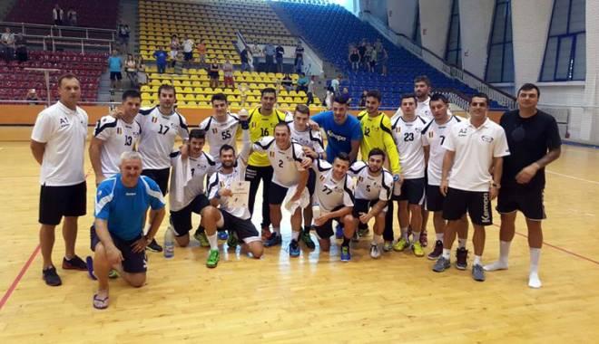 Foto: HC Dobrogea Sud a obţinut primul trofeu din istoria clubului
