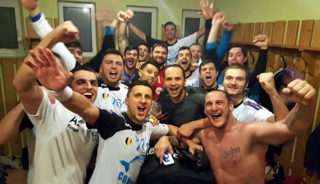 Foto: HC Dobrogea Sud, calificare superbă în Final Four al Cupei României