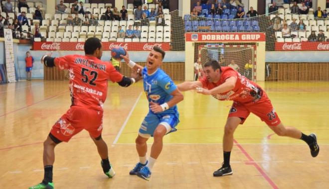 Foto: HC Dobrogea Sud  şi-a aflat programul din sferturile play-off-ului