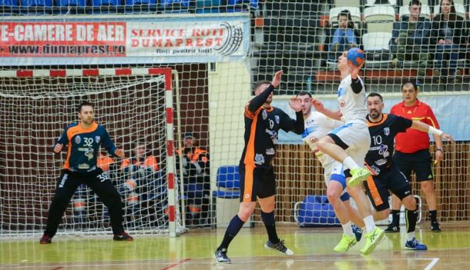 Foto: HC Dobrogea Sud, sigură de calificarea în cupele europene.