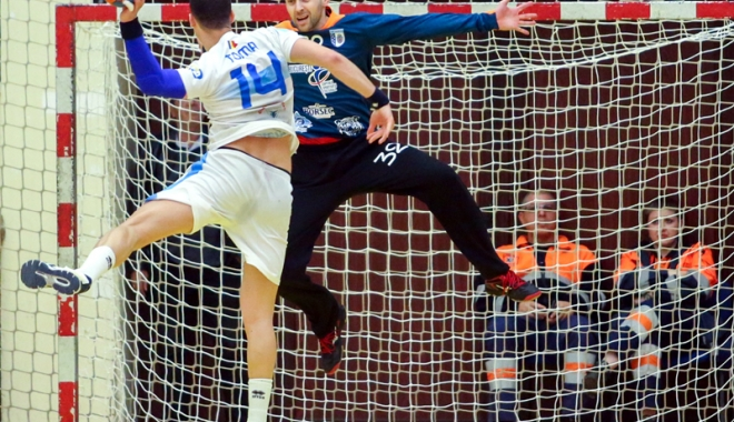 Foto: HC Dobrogea Sud joacă primul meci cu Turda, pentru medaliile de bronz
