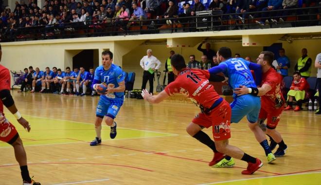 Update / HC Dobrogea Sud a pierdut finala mică a Ligii Naţionale. Stănescu a vrut să scoată echipa de pe teren